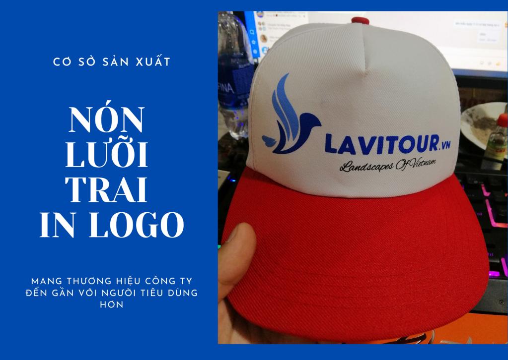 Nhận may và sản xuất nón lưỡi trai quảng cáo theo yêu cầu