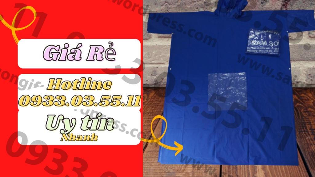 Những điều cần biết khi làm áo mưa in logo làm quà tặng, cung cấp thông tin in áo mưa quà tặng số lượng lớn với giá cả cạnh tranh nhất