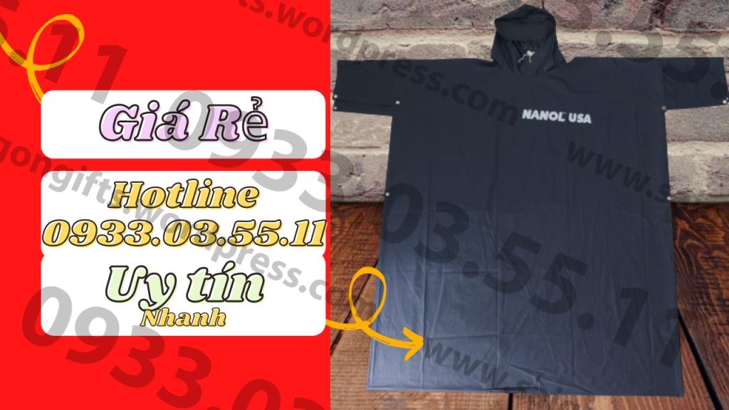 Doanh nghiệp nên chọn loại chất liệu và kiểu dáng của áo mưa trước khi đi làm. Đơn vị sản xuất áo mưa quảng cáo, áo mưa quà tặng số 1 TP HCM