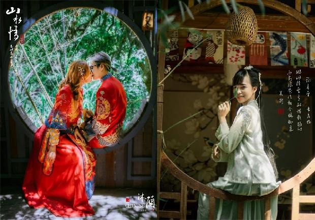 Vẻ đẹp hư ảo của Hiệp Khách Lầu như trong phân cảnh của một bộ phim cổ trang Trung Quốc. (Ảnh: Internet)