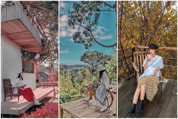 Những khung cảnh thơ mộng của KDL Lá Phong tựa như mùa thu Hàn Quốc, Nhật Bản. (Ảnh: Internet)