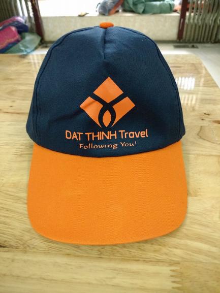 bán nón du lịch thêu lôgo