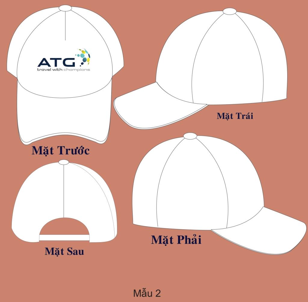 Phục vụ in nón lưỡi trai in logo cho công ty du lịch, công ty sự kiện, doanh nghiệp