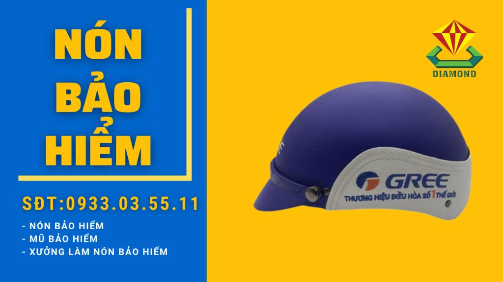 Công ty sản xuất nón bảo hiểm, mũ bảo hiểm in logo doanh nghiệp